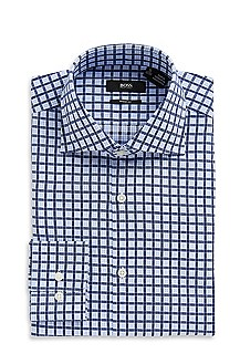 'Miles US' | Modern Fit, Spread Collar Dress Shirt