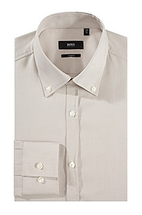 'Jense' | Skinny Fit, Button-Down Collar