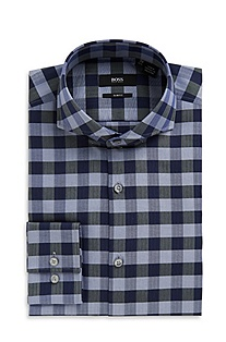 'Dwayne' | Slim Fit, Extreme Spread Collar Dress Shirt