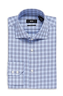 'Gerald' | Classic Fit, Spread Collar Dress Shirt
