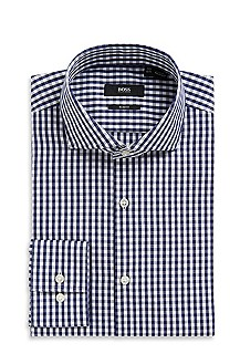 'Jason' | Slim Fit, Spread Collar Dress Shirt
