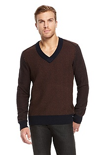 'Ajon' | Virgin Wool V-Neck Sweater