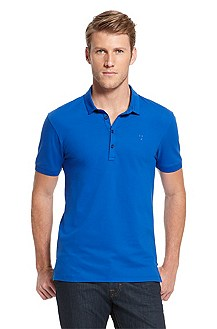 'Dolon' | Slim Fit, Cotton Polo