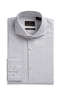 'Christo' | Modern Fit Spread Collar Dress Shirt