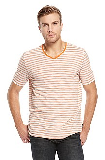 'Eraldo' | Cotton Striped T-Shirt