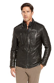'Nelbin' | Motorcycle  Leather Jacket