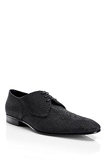 'Exor' | Stingray Leather Lace-Up Dress Shoe