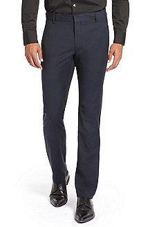 'Helbos' | Extra Slim Fit, Wool-Blend Dress Pant