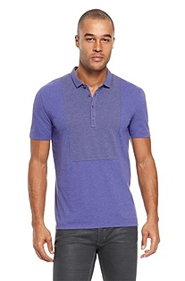 'Dopal' | Slim Fit, Stretch-Cotton Polo Shirt