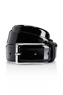 'Gereon-F' | Patent Leather Belt