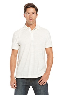 'Fontana' | Modern Fit, Pima Cotton Polo Shirt