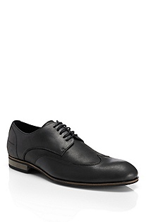 'Berlor' | Leather Lace-Up Casual Shoe