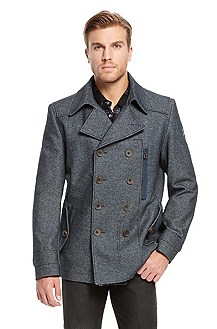 'Odrhril' | Cotton-Blend Double-Breasted Coat