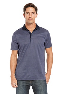 'San Remo' | Regular Fit, Cotton Polo Shirt