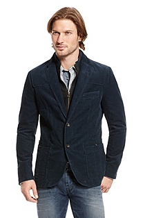 'Bjarn' | Slim Fit, Cotton Corduroy Sport Coat