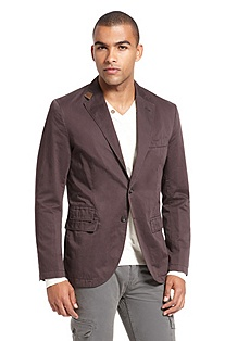 'Benne' | Slim Fit, Cotton-Linen Sport Coat
