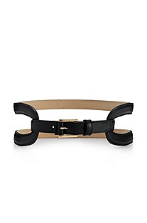 'Kailey' | Leather Cut-Out Belt