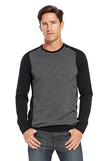 'Herschel' | Ribbed Crewneck Sweater