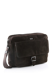 'Carmos' | Leather Messenger Bag