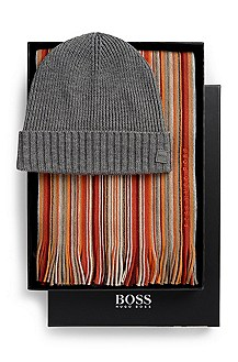 'Fadi' |  Wool Hat and Scarf Gift Set
