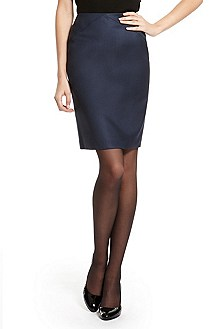 'Vilinata' | Virgin Wool Pencil Skirt