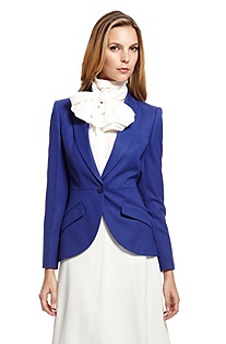'Jamana' | Stretch-Wool One-Button Blazer