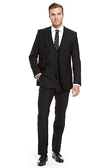 'Hold/Genius' | Slim Fit, Wool-Blend 3-Piece Suit