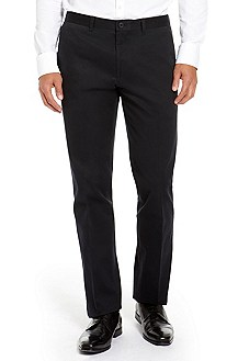 'Shark' | Modern Fit, Stretch-Cotton Dress Pant