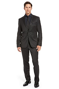 'Rolo/Ward' | Extra Slim Fit, Virgin Wool Suit