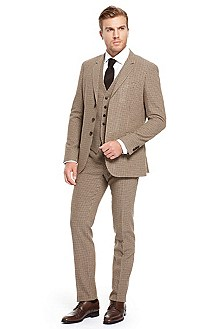 'Reese/Winn' | Extra Slim Fit, Virgin Wool 3-Piece Suit