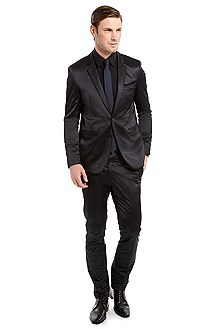 'Rolo/Ward' | Extra Slim Fit, Cotton-Blend Suit