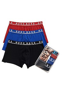 'Boxer 3P BM' | Stretch Cotton Trunk, 3-Pack
