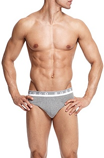 'Mini BM ' | Micromodal Logo Waistband Brief