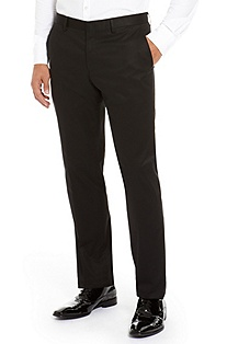 'Genesis' | Slim Fit, Stretch-Cotton Tuxedo Pant