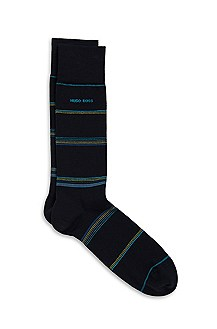 'RS Design US' | Cotton-Modal Striped Socks