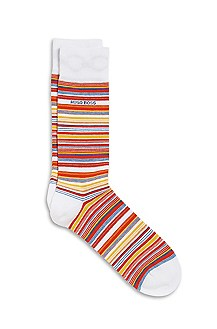 'RS Design' | Stretch-Cotton Striped Socks