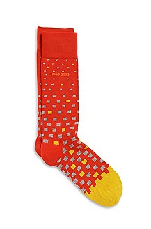 'RS Design' | Combed Cotton Patterned Socks