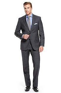 'The Pasini/Movie' | Classic Fit, Virgin Wool Suit