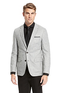 'Miles' | Slim Fit, Wool-Blend Sport Coat