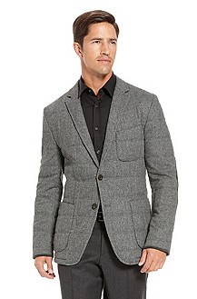 'Soul' | Modern Fit, Wool-Silk Quilted Sport Coat