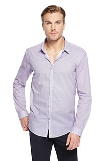 'Remus' | Slim Fit, Cotton Casual Shirt