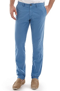 'Crigan 1-11-D' | Regular Fit, Cotton Casual Pant