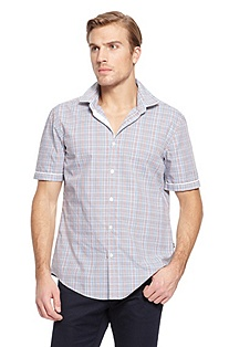 'Ring' | Regular Fit, Cotton Casual Shirt