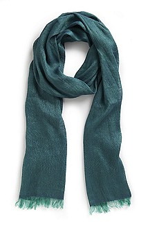 'Men-Z 385' | Silk-Linen Scarf