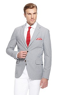 'Micah' | Slim Fit, Cotton Sport Coat