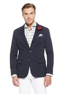 'Larvin' | Modern Fit, Cotton-Blend Sport Coat