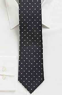 '7.5 cm Tie' | Slim, Silk Blocked Stripe