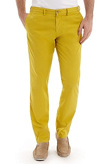 'Crigan 2-5-D' | Slim Fit, Stretch Cotton Casual Pant