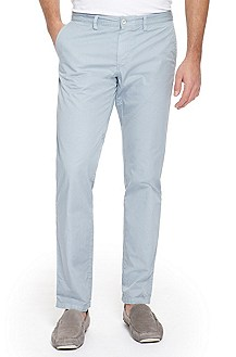 'Crigan 2-5-D' | Regular Fit, Stretch Cotton Casual Pant