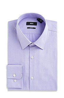 'Marlow US' | Modern Fit, Spread Collar Striped Dress Shirt